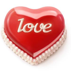 Сердечко тортик